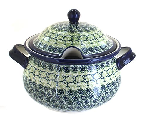 Polish Pottery Shannon Soup Tureen by Zaklady