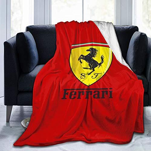 "Ultra-Soft Micro Fleece Blanket cialde per torte fe-rrari Throw Blanket Warm Ultra Soft Thick Bed Blanket for Couch Fleece - All Season Premium Bed Blanket 80"" x60"