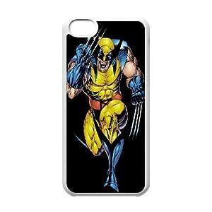 LJF phone case C-EUR Print Wolverine Pattern Hard Case for iphone 4/4s