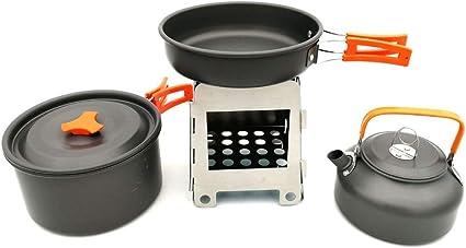 Utensilios de cocina de camping Kit de utensilios de cocina ...