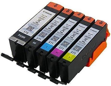 Original Setup Cartuchos de Tinta pgi-570 cli-571 para Impresora ...
