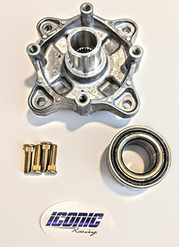 08-14 Polaris RZR 800 / S 800/4 800 Rear Wheel Hub Service Kit with bearing and studs left or right Replaces Polaris 5135113 7518378 ()
