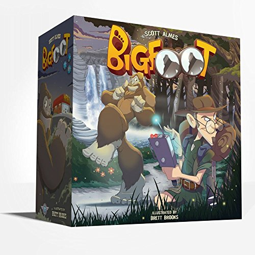Game Salute Bigfoot Board Game