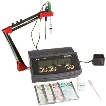 Hanna Instruments HI 2210 Benchtop pH Meter, with Temperature Compensation