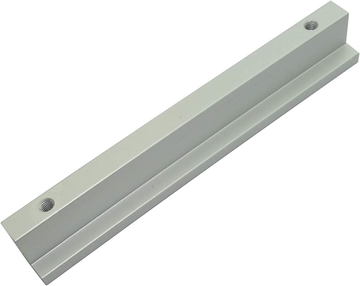 AERZETIX 2x Tirador para caj/ón alacena puerta mueble armario Terek plata mate 96mm C41674