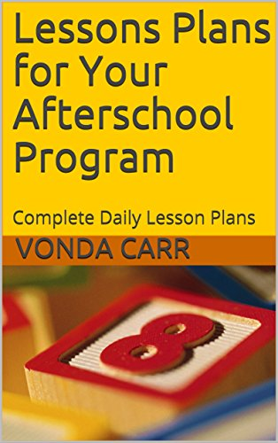 amazon com lessons plans for your afterschool program 5 weeks of