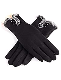 Winter Gloves for Women Touch Screen Gloves,Super Warm Gloves Winter Outdoor Gloves for Women (Black)