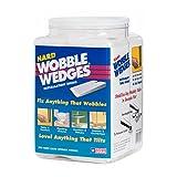 Wobble Wedges, White, Hard, 300 Wedges