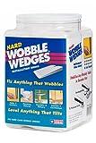 Wobble Wedge - Hard Clear - Installation Shims - 300 Piece Jar