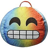 Emoji Pals Emoji Flawless Bean Bag, Tye Dye