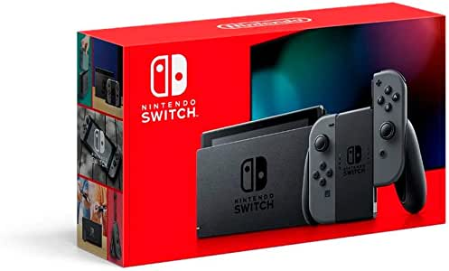 Nintendo Switch Console, Extended Battery Life, Grey