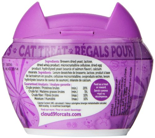 Hagen Cloud 9 What the Fish?! Cat Treat, 1.2-Ounce, Salmon