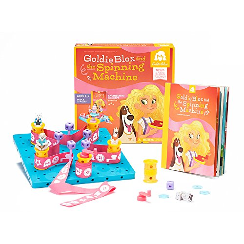 GoldieBlox and The Spinning Machine]()