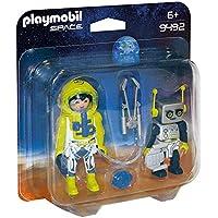 PLAYMOBIL 9492 Spielzeug-Duo Pack Astronaut und Roboter
