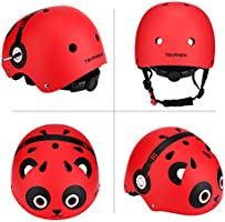Red Large 58-61 CM Adjustable Adult Bicycle Scooter Roller Skateboard Helmet