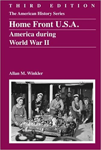Amazon Com Home Front U S A America During World War Ii The