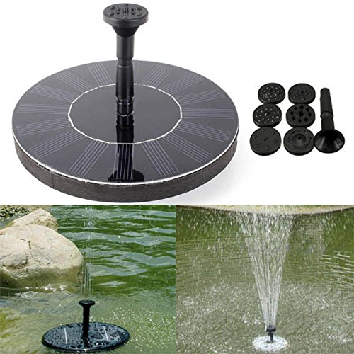 7V Solar Power Floating Brushless Water Pump Garden Landscape Submersible - Fountain Square Mall