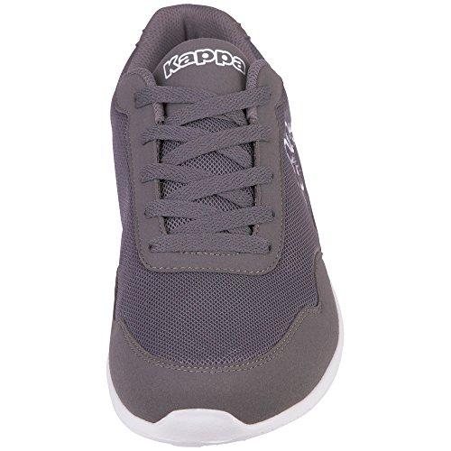 Kappa Unisex-Erwachsene 242495 Sneaker Weiß (1014 White/L´Grey)
