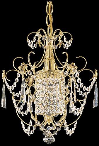 Schonbek 1829-23 Light Chandelier, Etruscan Gold ()