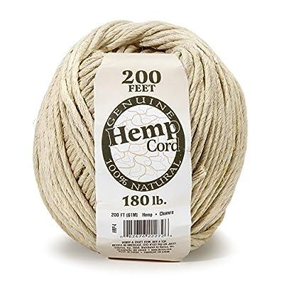 Darice Hemp Twine, 180 lb, Brown: Arts, Crafts & Sewing