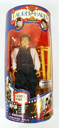 Oliver Hardy Limited Edition Collector's Series by Exclusive Toy Products