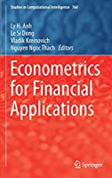 Econometrics for Financial Applications Front Cover