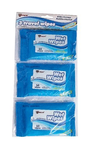 WET WIPES TRAVEL 3PK by DIAMOND VISIONS MfrPartNo 01-1011