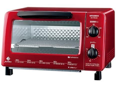 Amazon.com: MITSUBISHI tostador horno bo-r65jb-r (Rojo ...
