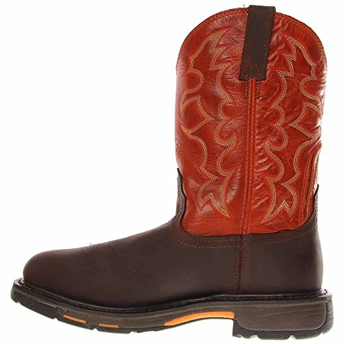 Ariat Mens Workhog Stålhätta Arbete Boot Brown