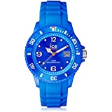 Ice-Watch SI.BE.B.S - Reloj unisex de cuarzo, correa de silicona color azul claro