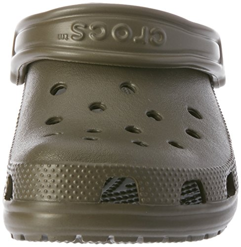 Zuecos Marrón Crocs Chocolate Unisex Classic Adulto 200 4xqq76wRH
