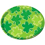 "Amscan 430032 St. Patrick's Items Theme Party, 13 1/2"", Green"