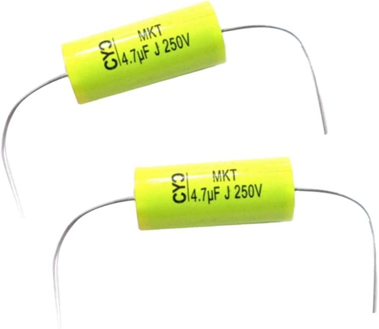 Gazechimp 4.7uF Speaker Frequency Divider Polypropylene Non-Polarized Capacitor