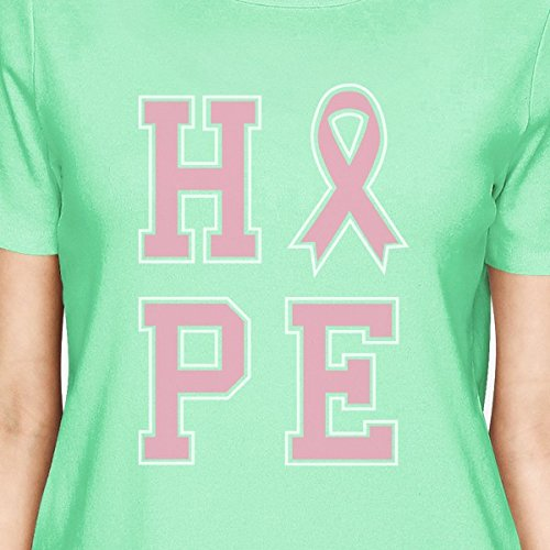 shirt Taille Manches Femme Courtes 365 Printing Ribbon T Hope Unique aEwppP