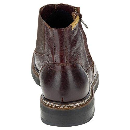Rups Heren Adner Chukka Boot Bordeaux Volnerfleer