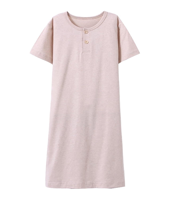 d15361788a Abalacoco Girls Kids Organic Cotton Nightgown Sleepwear Dress Soft Home  Dress Summer Autumn Short Long Sleeve