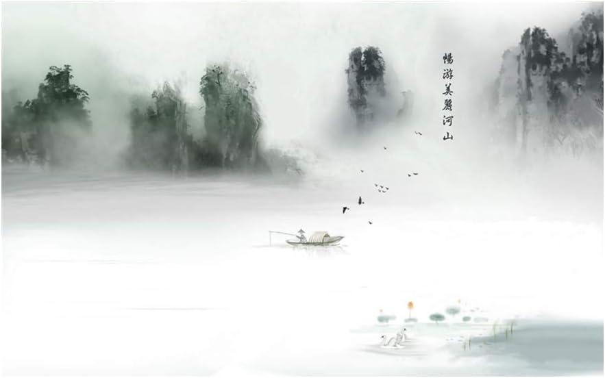 Chinese landscape painting Richard L Yokley Enjoy the beautiful riverside