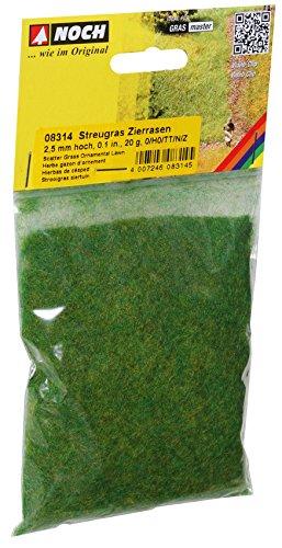 (Noch 8314 Scatter Grass Orn Lwn 20g  G,0,H0,TT,N,Z Scale)