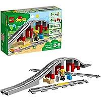 LEGO 26 Pieces Duplo Train Bridge & Tracks Building Blocks