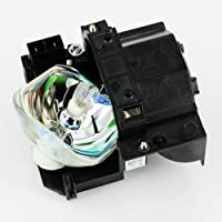 eWorld High Quality Epson 3LCD technology ELPLP41 / V13H010L41 Compatible for EPSON PowerLite 77c S5 78 S6 W6 S6+ EPSON PowerLite Home Cinema 700; EB-S6 S62 S6LU TW420 W6 X6 X62 X6LU EH-TW420 EMP-260 77C S5 S52 S6 X5 X52 X6 EX21 EX30 EX50 EX70 H283A H284A Projectors