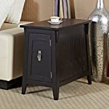 Leick Favorite Finds Mission Cabinet End Table, Slate Black Review