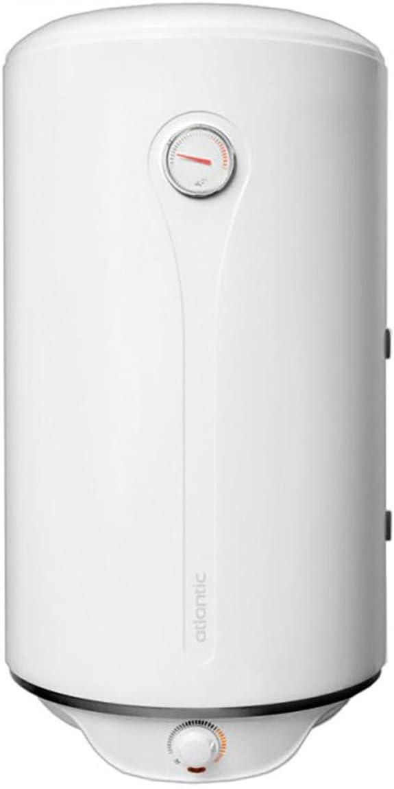 Calentador de agua eléctrico con bobina de 100 litros, diseñado para instalaciones de calefacción con una fuente de calor principal caldera de agua caliente o colector solar Atlantic Combi O'Pro