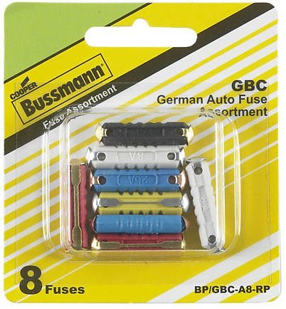 GERMAN AUTO FUSE ASST CD/8