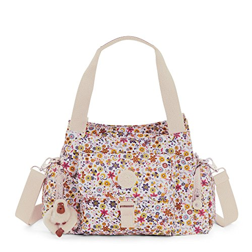 Kipling Women's Felix Printed Handbag One Size Chatty Daisies by Kipling
