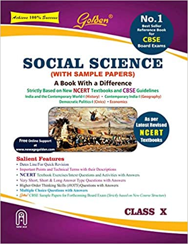 Golden Social Science: With Sample Papers A Refresher for Class 10