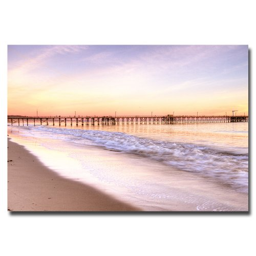 Santa Barbara by Ariane Moshayedi, 16x24-Inch Canvas Wall Art