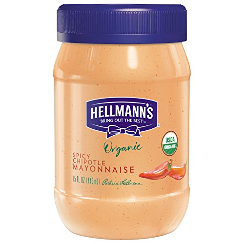 Hellmann's Organic Mayonnaise, Spicy Chipotle, 15 - Spicy Mayonnaise