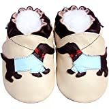 Jinwood Leather Baby Soft Sole Shoes Boy Girl Infant...