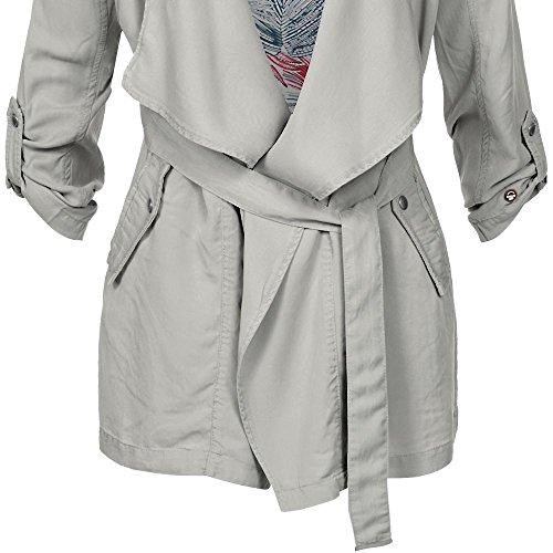 Grau übergangsjacke Khujo Jacken Damen Moibeal
