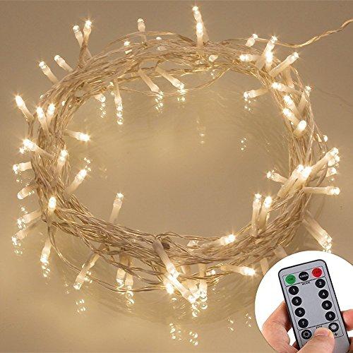 Led Christmas Lights White Cable - 7